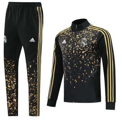 Real Madrid C.F. Football club Los Blancos  2020 Replica TRAINING Tracksuit Full Zip Sweatshirt Futebol Casual TOPS FÚTBOL Survetement CALCIO SOCCER FUSSBALL Jogging Pants Sportswear Set BNWT