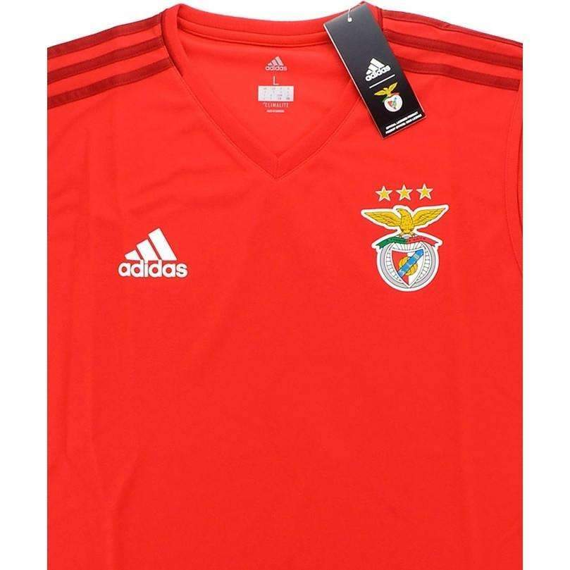 save off 3d5aa 786ae Benfica Adidas Training Vest/Sleeveless SHIRT SOCCER FUSSBALL ORIGINAL  JERSEY FOOTBALL BNWT TOP