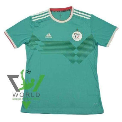 Algeria national football team Away Adidas Green 2018-2019 Adidas FÚTBOL SOCCER KIT CALCIO SHIRT JERSEY FUSSBALL CAMISA TRIKOT MAILLOT MAGLIA BNWT - World Soccer Football Shop