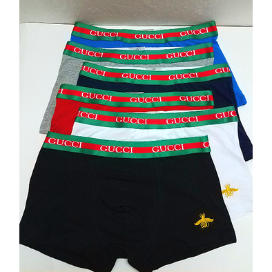 MEN'S Gucci Underpants Multi-Color TRUNK SHORTS UNDERWEAR Fit 100% Cotton Boxer Briefs 10 IN A PACK biancheria intima Unterwäsche la ropa interior BNWT