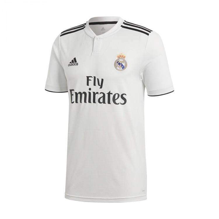 promo code 9658f 3abc2 REAL MADRID New ADIDAS 2018-2019 HOME Soccer Football JERSEY BNWT -