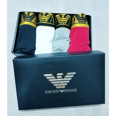 MEN'S Emporio Armani Underpants Multi-Color TRUNK SHORTS UNDERWEAR Fit 100% Cotton Boxer Briefs 10 IN A PACK biancheria intima Unterwäsche la ropa interior BNWT