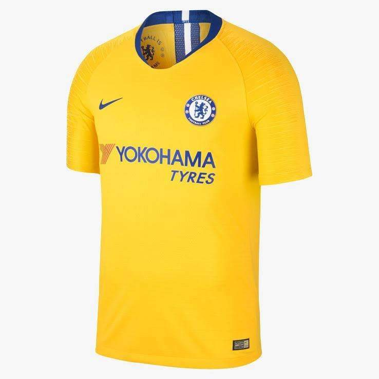 size 40 581d4 d0aa1 Chelsea 18-19 Nike Away Kit SHIRT SOCCER FUSSBALL REPLICA JERSEY FOOTBALL  BNWT TOPS