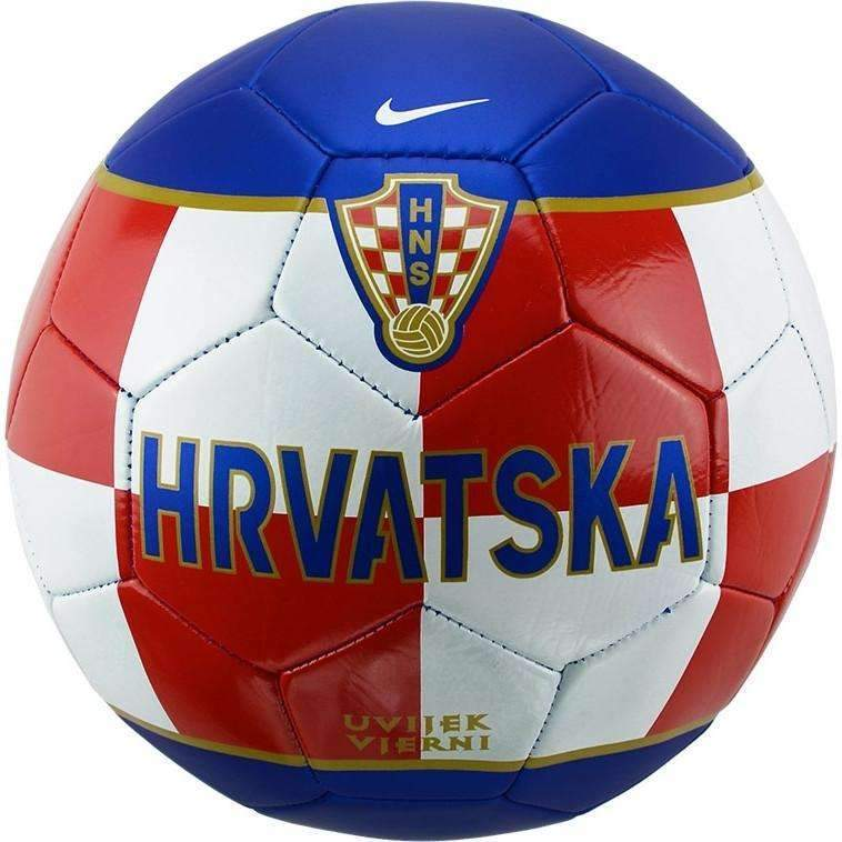 Croatia Nike Sahovnica Hrvatska New Ball Size 5 Soccer Football World Cup Supporters Fans Balkans Fussball Bnwt