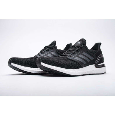 EG0708 adidas Ultra BOOST 20 CONSORTIUM Black White Reflective Fashion Basketball Shoes High Top Sports Sneakers Athletic Leisure Running Schuhe Zapatos scarpe chaussures Casual BNWT