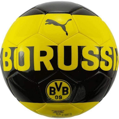 Borussia Dortmund Black and Yellow Puma Supporters Ball Size 5 NIKE Fußball SOCCER FOOTBALL BNWT - World Soccer Football Shop