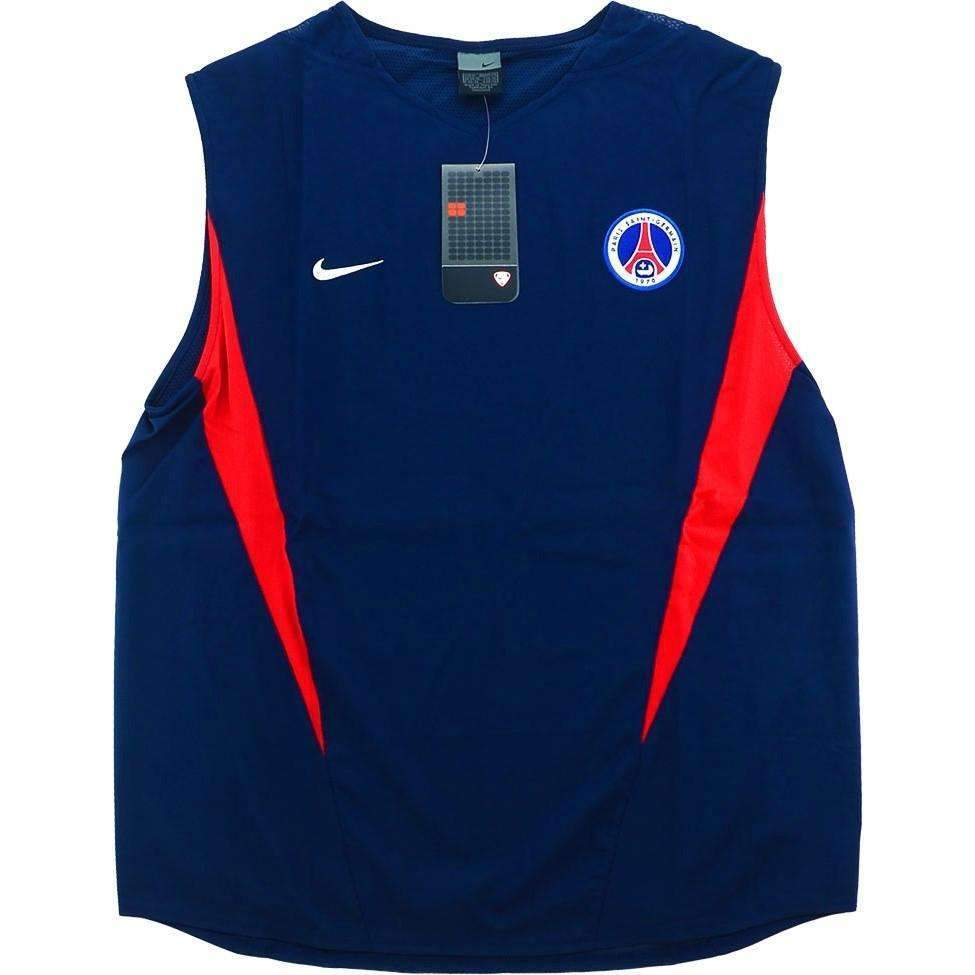 uk availability 40c6b ea4de Paris Saint-Germain Player Issue Training Vest SHIRT SOCCER FUSSBALL  ORIGINAL JERSEY FOOTBALL BNWT TOP -