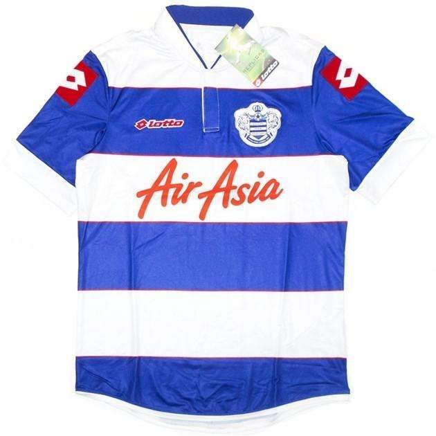 new styles e9b1c 3eb99 QPR Home Shirt Lotto SOCCER FUSSBALL ORIGINAL JERSEY FOOTBALL BNWT TOP -