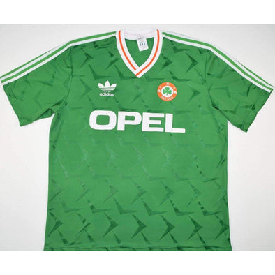 Republic of Ireland national football team Home 1990 Retro Classic Camiseta FÚTBOL SOCCER KIT CALCIO SHIRT JERSEY FUSSBALL CAMISA TRIKOT MAILLOT MAGLIA Camiseta BNWT