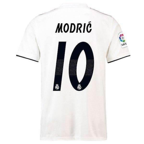 save off b6c91 bfc9a Real Madrid F.C. Football club Modrić #10 Home Adidas 2018-19 FÚTBOL SOCCER  KIT CALCIO SHIRT JERSEY FUSSBALL CAMISA TRIKOT MAILLO