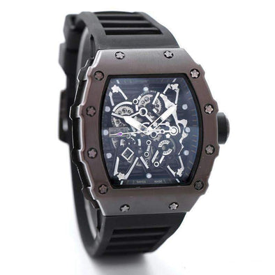 2017Luxury brand Fashion Skeleton Watches men or women Skull sport quartz watch 2 - World Soccer Football Shop