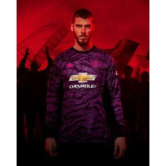 best service f7d94 c3008 Manchester United F.C. Football club The Red Devils Goalkeeper adidas  2019-20 FÚTBOL SOCCER KIT CALCIO SHIRT JERSEY FUSSBALL CAMISA TRIKOT  MAILLOT ...