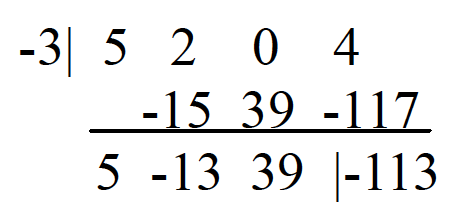 SAT 1 Math Test Synthetic Division example