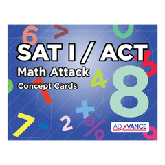 Learn what you need to know to pass the SAT 1 Math test by mastering the AdVANCE SAT I Math Attack flashcards