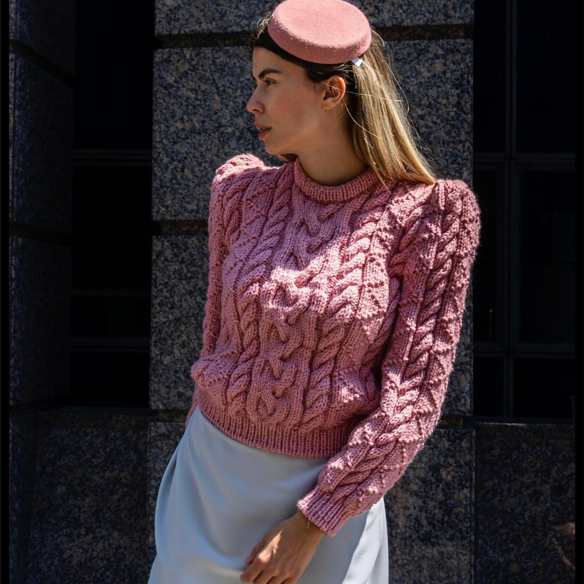 VINCE SWEATER PINK