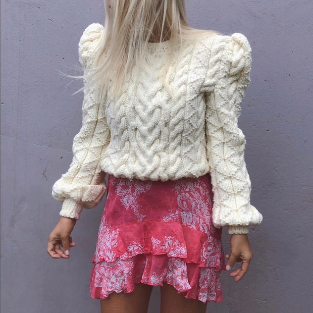 VINCE SWEATER CREAM