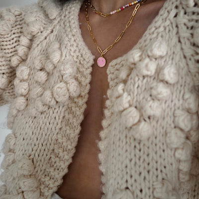 TALIS HAPPINESS NECKLACE PINK