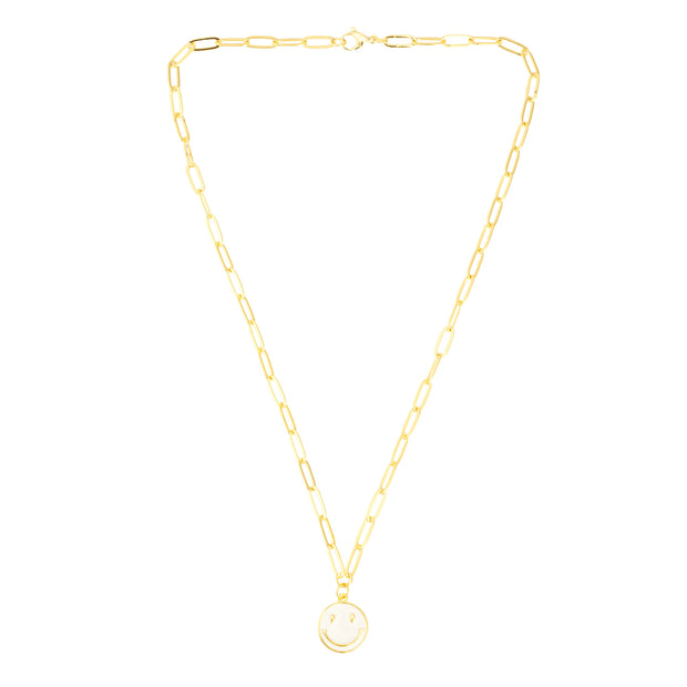 TALIS HAPPINESS NECKLACE WHITE