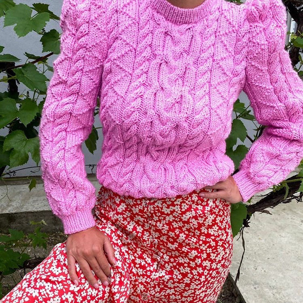 VINCE SUMMER SWEATER PINK