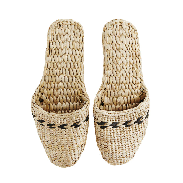 WOVEN SLIPPERS CLOSED TOE - McHugh Lifestyle BOHEMIAN GLAMOUR