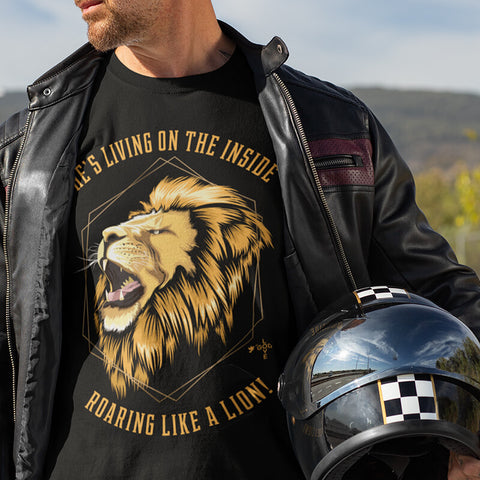 Like a Lion Unisex Heavy Cotton Tee - Shop Love God