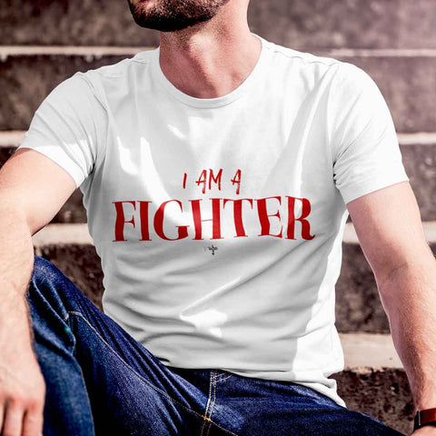 I Am A Fighter Unisex Heavy Cotton Tee - Shop Love God