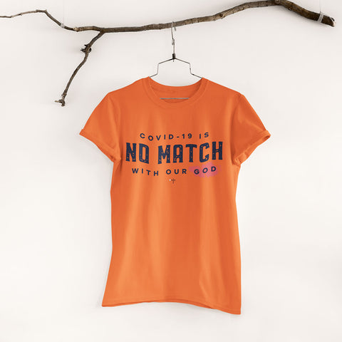 No Match Unisex Heavy Cotton Tee - Shop Love God