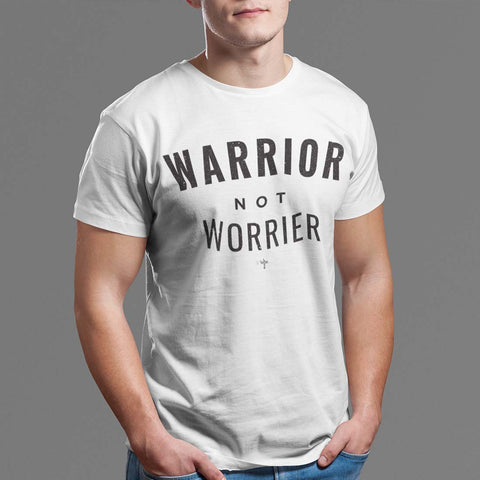 Warrior No Worrier Unisex Heavy Cotton Tee - Shop Love God