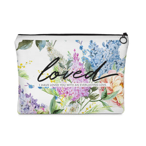 Loved Carry All Pouch - Flat - Shop Love God