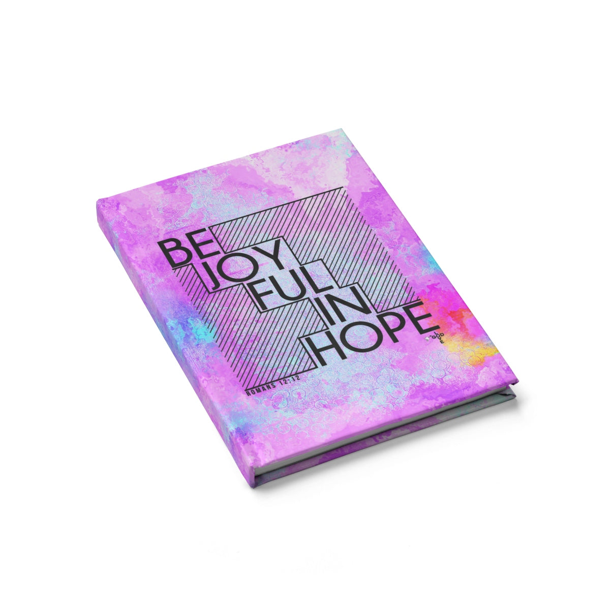 Be Joyful In Hope Hardcover Journal - Blank - Shop Love God