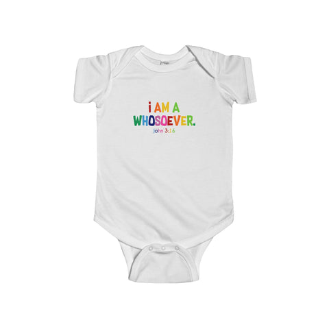 I Am A Whosoever Infant Jersey Onesie - Shop Love God