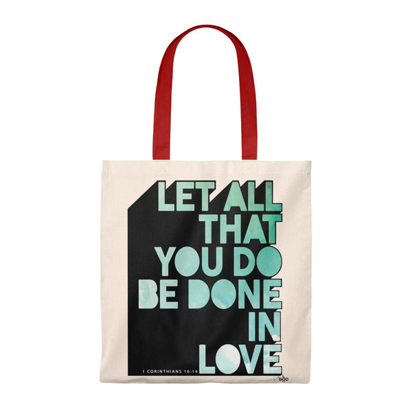 Done In Love Caryall Tote Bag - Shop Love God