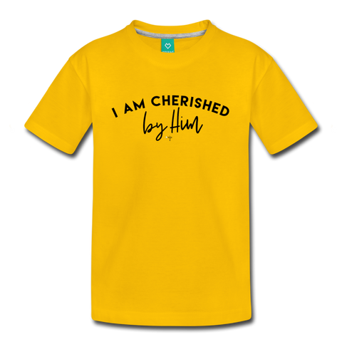 Cherished Kids' Premium T-Shirt - Shop Love God