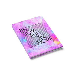 Be Joyful In Hope Hardcover Journal - Ruled - Shop Love God