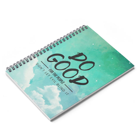 Do Good Hardcover Notebook - Shop Love God