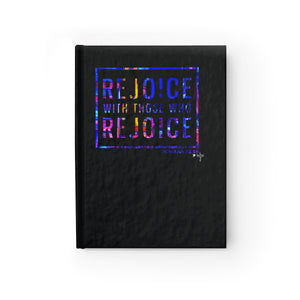Rejoice With Those Who Rejoice Hardcover Journal - Blank - Shop Love God