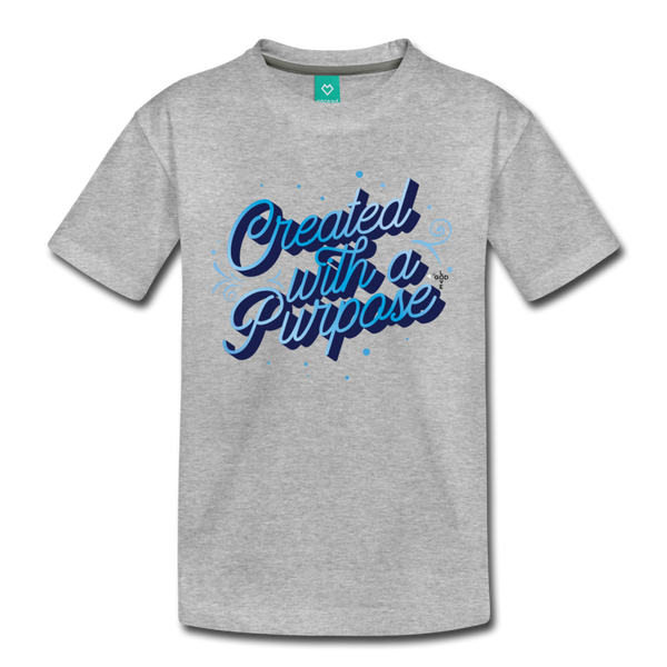With A Purpose Kids' Premium T-Shirt - Shop Love God