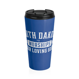 SD Worships our Loving God Stainless Steel Travel Mug - Shop Love God