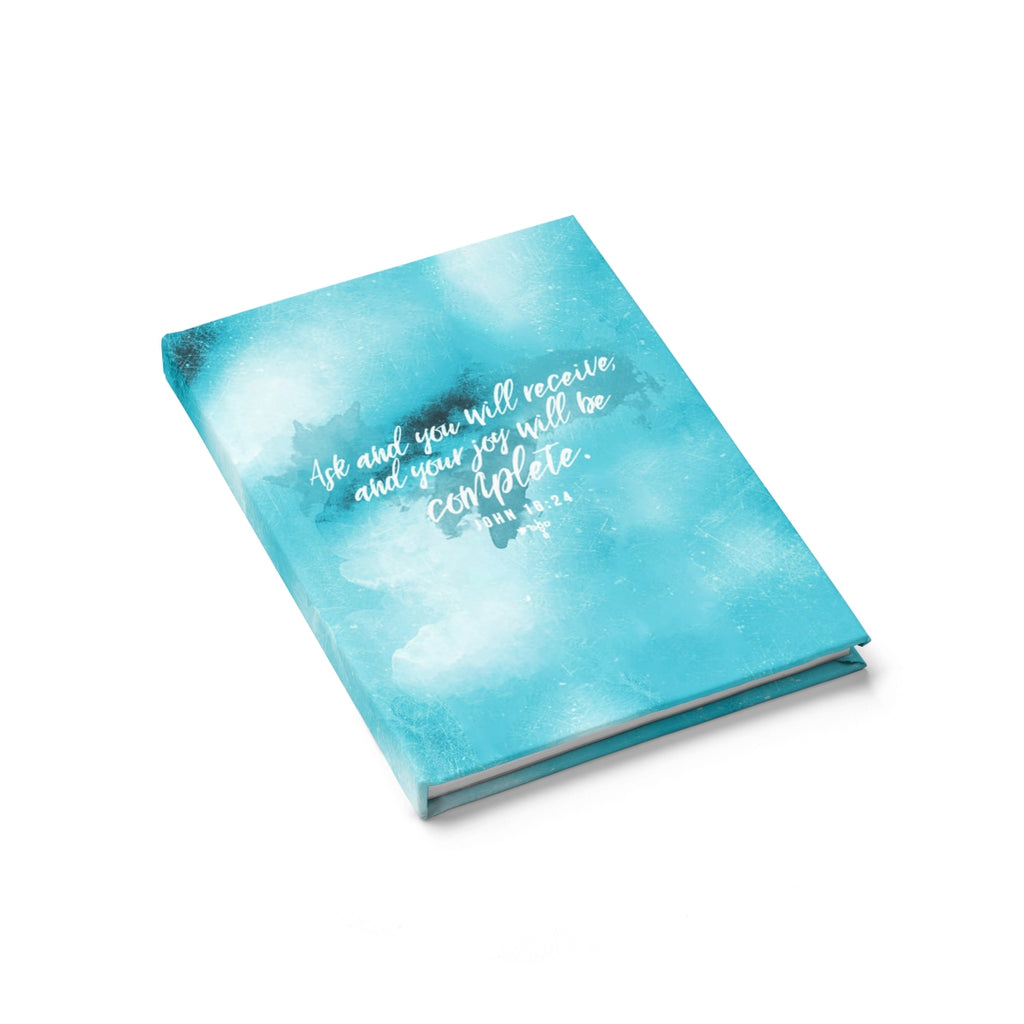 Ask And You Will Receive Hardcover Journal - Ruled - Shop Love God