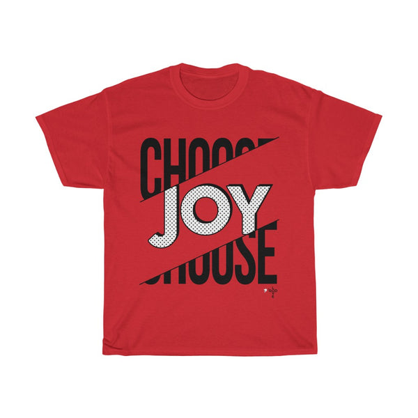 Choose Joy Unisex Heavy Cotton Tee - Shop Love God