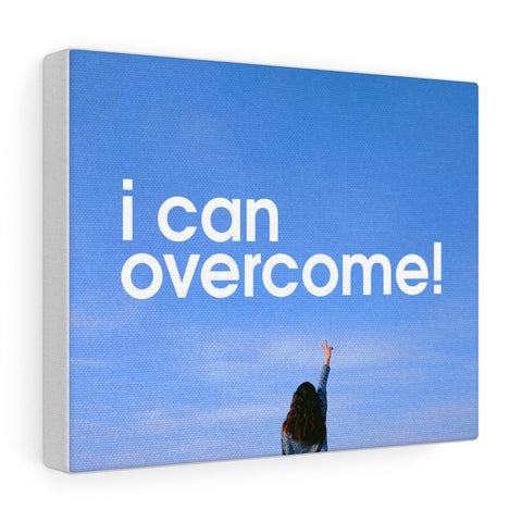 I Can Overcome Canvas Gallery Wraps - Shop Love God