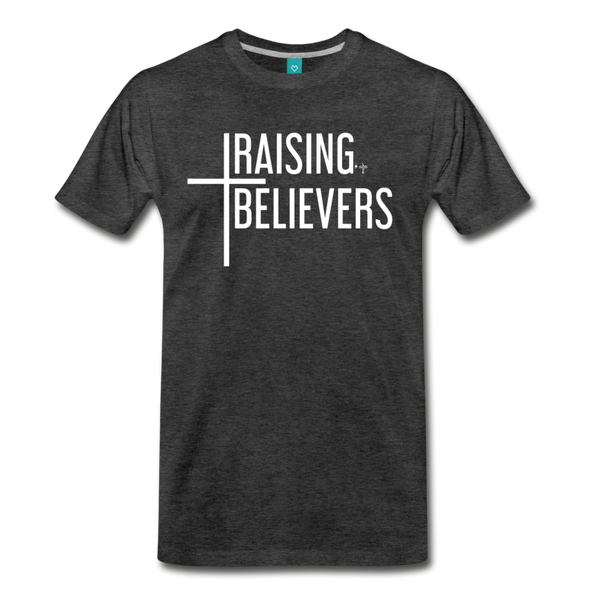 Raising Believers Men's Premium T-Shirt - Shop Love God