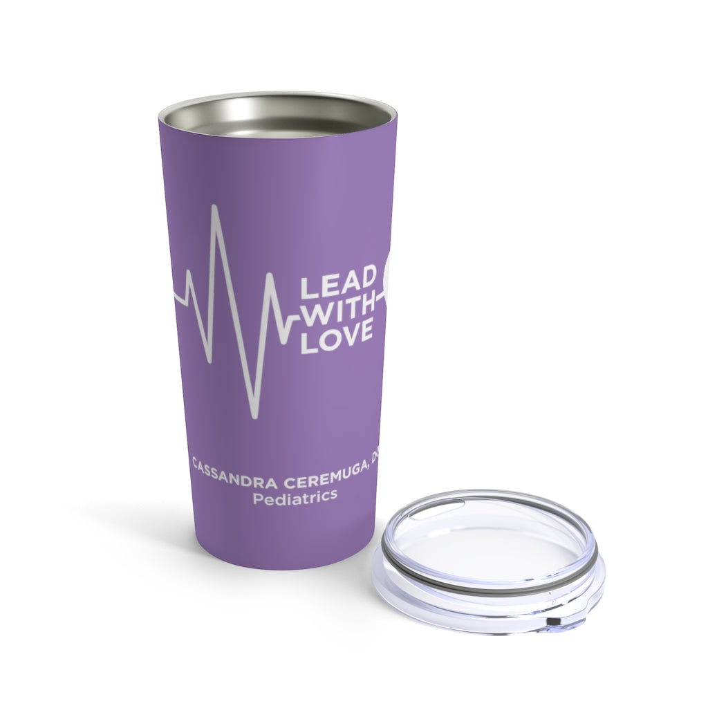 Lead with Love  CC Tumbler 20oz