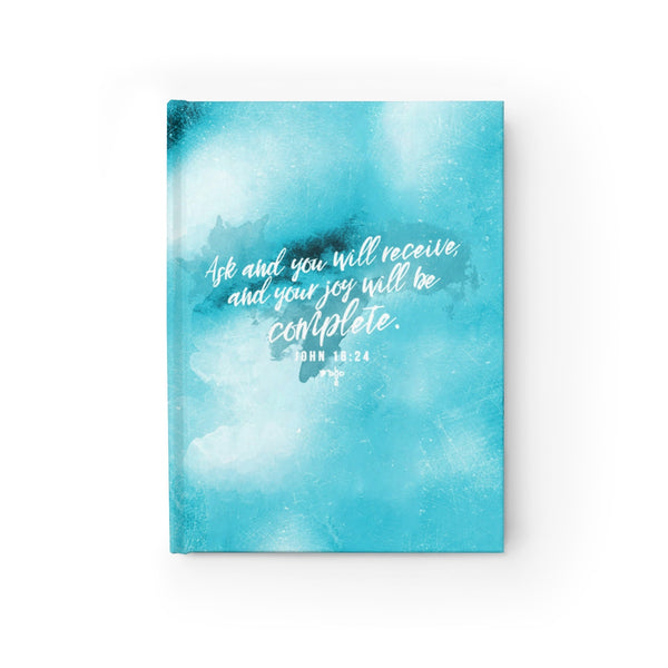 Ask And You Shall Receive Hardcover Journal - Blank - Shop Love God