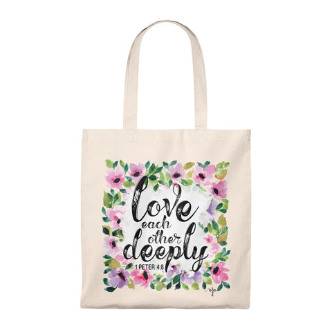 Love Each Other Caryall Tote Bag - Shop Love God