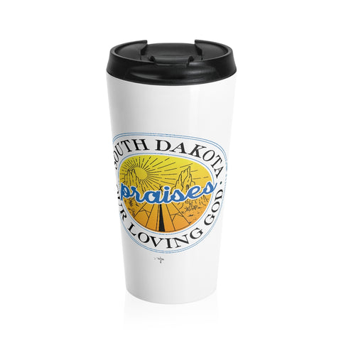 SD Praises our Loving God Stainless Steel Travel Mug - Shop Love God