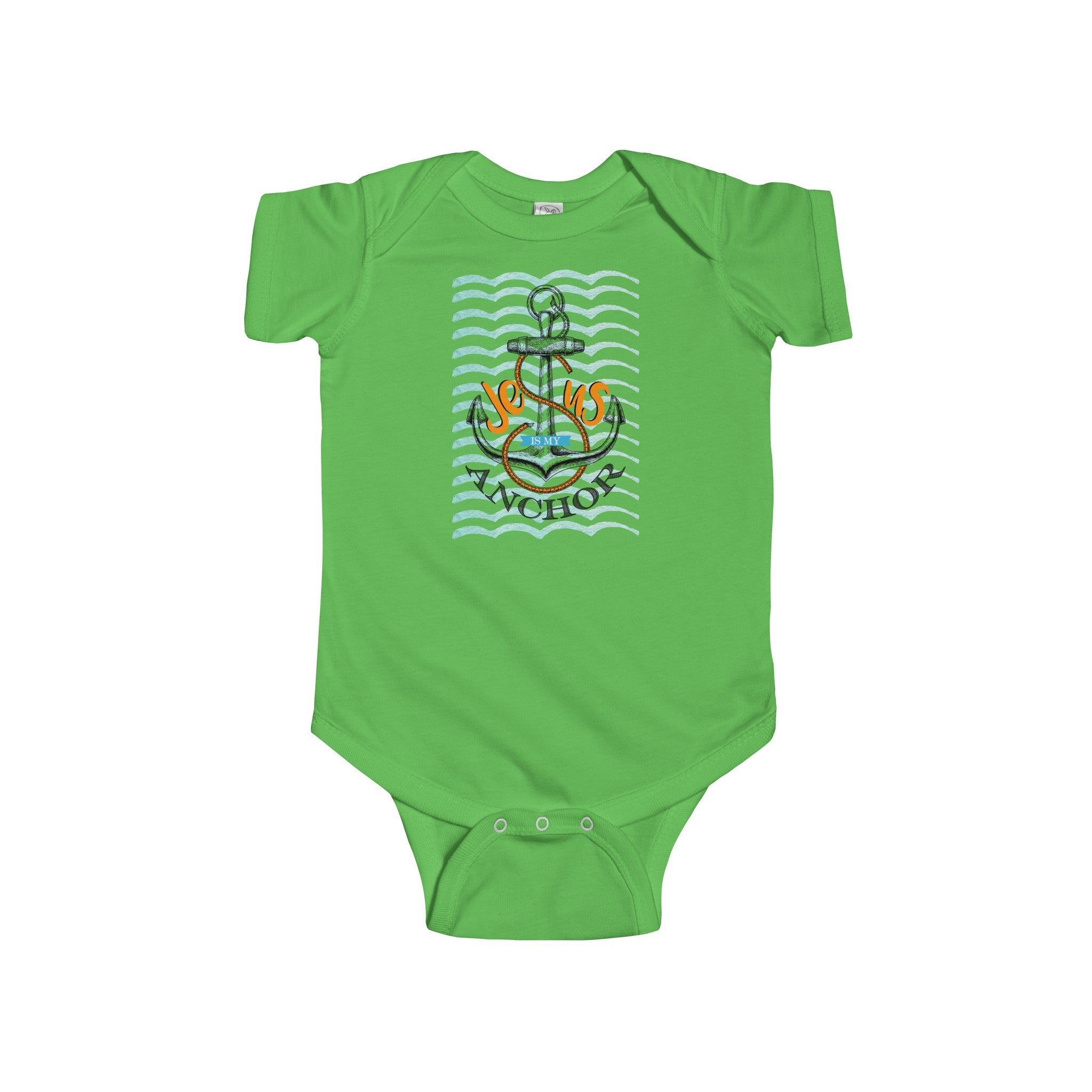 Jesus Is My Anchor Infant Jersey Onesie - Shop Love God