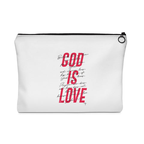 God Is Love Carry All Pouch - Flat - Shop Love God