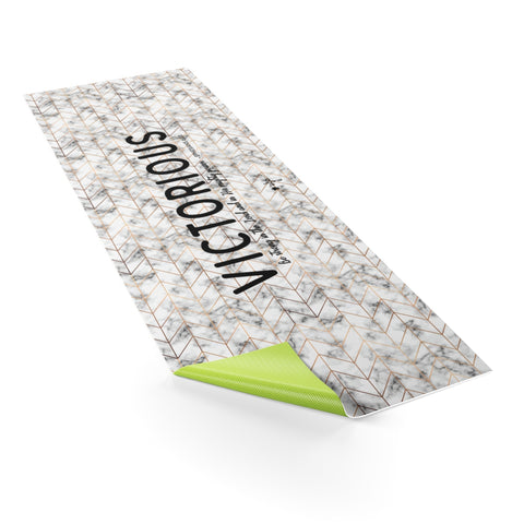 Victorious Yoga Mat - Shop Love God