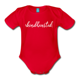 Kindhearted Organic Short Sleeve Baby Bodysuit - Shop Love God